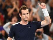 Andy Murray nach seiner Erstrunden-Niederlage in Melbourne im Januar 2019 (Bild: KEYSTONE/EPA AAP/JULIAN SMITH)
