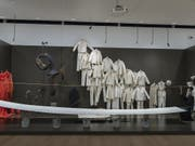Installationsansicht der Ausstellung «Tadeusz Kantor: Ou sont les neiges d'antan» im Museum Tinguely in Basel. (Bild: KEYSTONE/GEORGIOS KEFALAS)