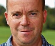 Romeo Wildhaber ist Präsident des Amriswiler Braunviehzüchtervereins. (Bild: Manuel Nagel)