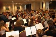Dirigent Beat Blättler sagt: «Die sind alle top motiviert.»Bild: Kurt Liembd (Engelberg, 8. Oktober 2019)
