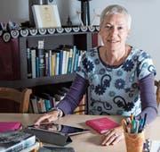 Die St.Galler Autorin Christine Fischer. Bild: Ralph Ribi