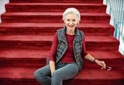 War in den 70er-Jahren am Luzerner Theater, wo sie jetzt in der Operette «Märchen im Grand Hotel» auf der Bühne steht: Heidi Maria Glössner. (Bild: Dominik Wunderli)