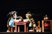 Szene aus dem Kinderstück «Oh wie schön ist Panama» am Figurentheater St.Gallen. (Bild: Tine Edel)