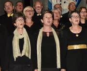 Grosses Kino herrschte beim Gemischt-Chor Grabs. (Bild: Heidy Beyeler)