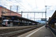 Der Bahnhof St.Margrethen. (Bild: Kurt Latzer)