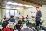 In der Moschee erhalten die Kinder auch Religionsunterricht. (Bild: Andrea Stalder)