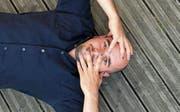 Das Gegenteil einer intellektuellen Kunstfigur: Der 33-jährige Kabarettist und Satiriker Renato Kaiser.Bild: Filolino