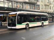 Der neue ZVB-Elektrobus. (Bild: Marco Morosoli, Zug, 5. November 2019)