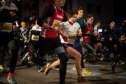 Kinder und Jugendliche bis und mit der Kategorie U16 rennen am Gossauer Weihnachtslauf gratis mit. (Bild: Benjamin Manser - 1. Dezember 2018)