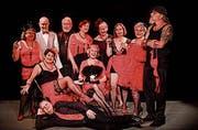 Das Seniorentheater präsentiert «Striptease» auf der Diogenes-Bühne. Bild: pd