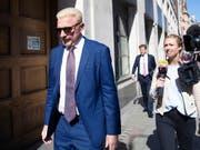 Der ehemalige Tennisspieler Boris Becker war 2017 von einem britischen Gericht für zahlungsunfähig erklärt worden. Die Insolvenzauflagen wurden nun um 12 Jahre verlängert. (Bild: KEYSTONE/AP PA/AARON CHOWN)