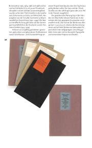 Zeitloses Gestaltung: Seite aus «Max Koller. Typograf». (Bild: PD)