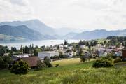 Meggen hat weiterhin den tiefsten Steuerfuss im Kanton Luzern. (Bild: Manuela Jans-Koch, 18. Juli 2019)