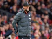 Liverpools Trainer Jürgen Klopp steht ein intensiver Dezember bevor (Bild: KEYSTONE/EPA/PETER POWELL)