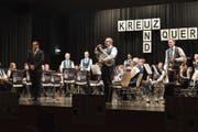 Die Feldmusik Adligenswil am letztjährigen Jahreskonzert. (Bild: PD)