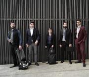 Das Quintett BlattWerk fand an der Berner Hochshcule der Künste zusammen. (Bild: ZVG)