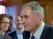 Hans-Peter Wessels, Vorsteher des Basler Bau- und Verkehrsdepartements, widmet sich ab Februar 2021 neuen Aufgaben. (Bild: KEYSTONE/GEORGIOS KEFALAS)