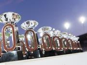 Es gibt im kommenden Jahr nur noch 24 Diamond-League-Trophäen (Bild: KEYSTONE/JEAN-CHRISTOPHE BOTT)