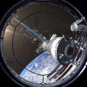 Bild aus dem Planetariumsfilm «Mission Erde»: Aufnahmen unseres Planeten werden mit computergesteuerten Effekten kombiniert. (Bild: PD)