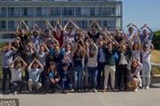 Ein Teil der Studenten, die im nächsten Sommer Luzern besuchen werden. (Bild: PD)