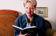 Die Schriftstellerin Barbara Traber. Aufgenommen 1998. (Bild: Keystone)