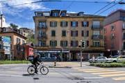 Der Kanton will die Verkehrssituation an der Maihofstrasse verbessern. (Bild: Eveline Beerkircher, Luzern, 24. April 2019)