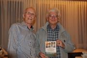 Dankbar, dass das Buch fertig ist: Armin Benz und Peter Jenni.