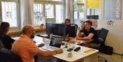 In Lichtensteig ist der Coworking-Space fest installiert. Im September gab es einen «Tag der offenen Türe», einen sogenannten Free Friday. (Bild: Timon Kobelt / September 2019)