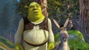 Der grüne Oger Shrek und sein ständig quasselnder Esel. (Bild: PD)