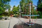 Der bestehende Dorfpark-Spielplatz in Buochs. (Bild: PD)