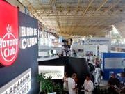 Informationen von der jährlichen Handelsmesse in Havanna: Kuba lockt weniger ausländische Geldgeber an als noch vor einem Jahr. (Bild: KEYSTONE/EPA EFE/ERNESTO MASTRASCUSA)