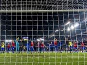Die Basler freuen sich über eine erfolgreiche Europa-League-Kampagne (Bild: KEYSTONE/GEORGIOS KEFALAS)
