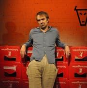 Der Schauspieler Alexandre Pelichet führt im Theater Uri die Reihe des Erzähltheaters fort. (Bild: PD)