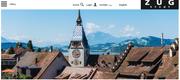 Die Website der Stadt Zug hat einen neuen Auftritt erhalten. (Bild: Screenshot)