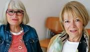 Helena Egli und Ursula Ammann leisten im Sonntagstreff Freiwilligenarbeit. «Wir sind gerne mit Menschen zusammen», sagte sie. (Bild: PD)