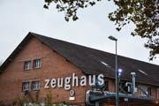 Im Bau K1 auf dem Zeughausareal befindet sich die Zeughaus-Bar. (Bild: Mathias Frei)