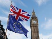 Die Ratingagentur Moody's hat am Freitag den Ausblick für das Rating von Grossbritannien auf «negativ» gesenkt. (Bild: KEYSTONE/AP/KIRSTY WIGGLESWORTH)