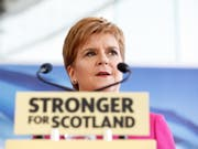 Die schottische Regierungschefin Nicola Sturgeon lehnt es strikt ab, dass Schottland «gegen seinen Willen aus der EU ausgeschlossen» werde, obwohl 62 Prozent der Schotten im 2016 abgehaltenen Referendum gegen den Brexit gestimmt hatten. (Bild: KEYSTONE/EPA/ROBERT PERRY)