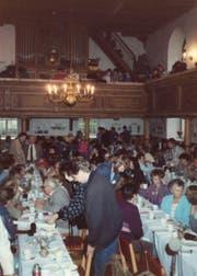 Beim Christlichen Friedensseminar in Königswalde sprachen die Menschen über ihre Wünsche und Visionen. (Bild: PD)