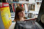 Auch Lernende aus dem Kanton St. Gallen besuchen die BMS Liechtenstein. (Bild: Coralie Wenger)