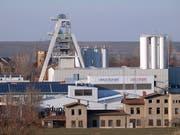 In der Grube Teutschenthal arbeiten nach Unternehmensangaben 100 Menschen. (Bild: KEYSTONE/AP DPA/SEBASTIAN WILLNOW)