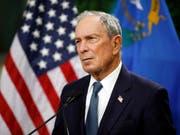 Der ehemalige New Yorker Bürgermeister Michael Bloomberg steigt Medienberichten zufolge für die Demokraten in den US-Präsidentschaftswahlkampf ein. (Bild: KEYSTONE/AP/JOHN LOCHER)