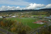 Die Sportanlage Güttingersreuti soll um eine weitere Attraktion reicher werden. (Bild: Mario Testa)