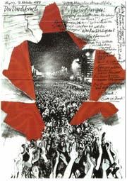 Eine Grafik vom Leipziger Künstler Matthias Klemm zu den Ereignissen von 1989. (Bild: PD)