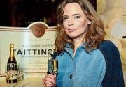 Sie wird die neue Chefin bei Taittinger: Vitalie Taittinger.Bild: Getty