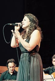 Die Rehetobler Sängerin Joana Obieta. (Bild: PD)