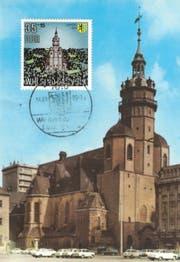 Eine Postkarte der Leipziger Nikolaikirche. (Bild: PD)
