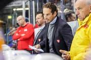 Patrick Fischer am Deutschland-Cup. (Bild: Andy Müller/freshfocus, Krefeld, 7. November 2019)