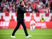 Seine Zeit als Trainer des 1. FC Köln ist abgelaufen: Achim Beierlorzer (Bild: KEYSTONE/EPA/SASCHA STEINBACH)