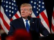 Will nichts von einer möglichen Einigiung im Handelsstreit mit China wissen: US-Präsident Donald Trump. (Bild: KEYSTONE/AP/JOHN BAZEMORE)